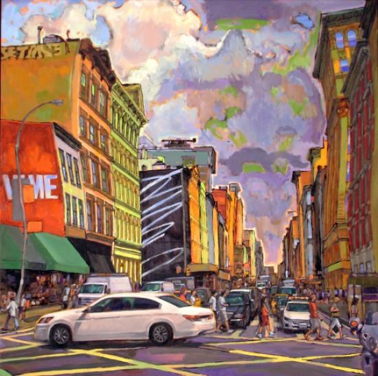 Richard Lang Chandler - Driving Crosstown
