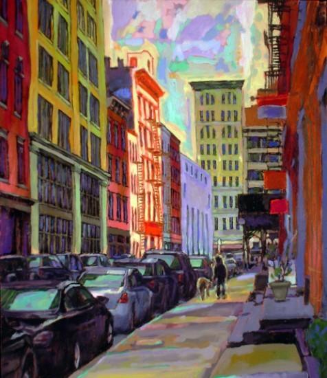 Richard Lang Chandler - Lispenard Morning