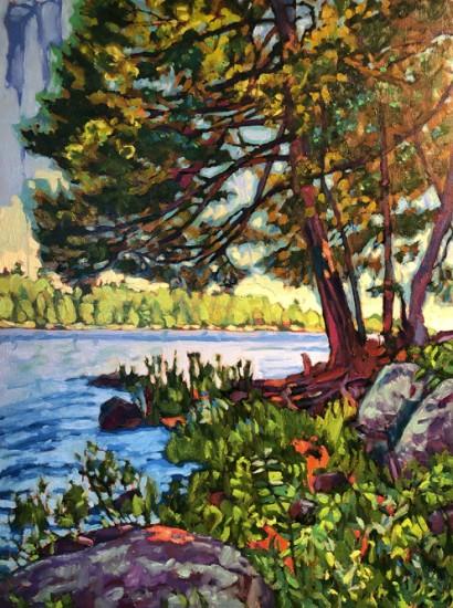 Richard Lang Chandler - My Long Lake 2