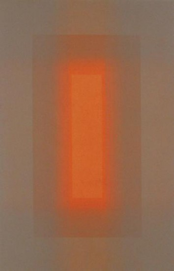 Patsy Krebs - Untitled (grey/orange)