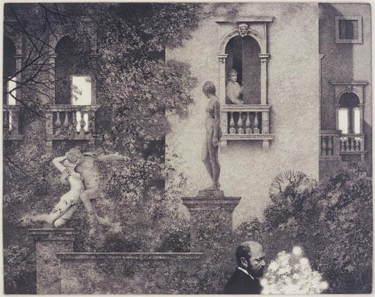Peter Milton - Garden with Henry