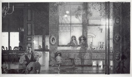 Peter Milton - Interiors I: Family Reunion