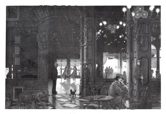 Peter Milton - Interiors IV: Hotel Paradise Café