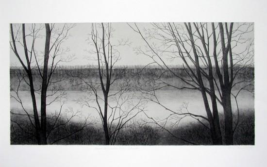 Rica Bando - Dawn, The Hudson River