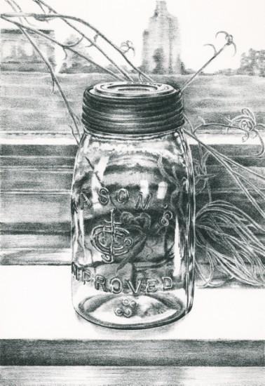 Rica Bando - Mason jar / 83