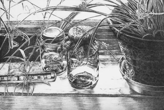 Rica Bando - Mason jar Window Sill