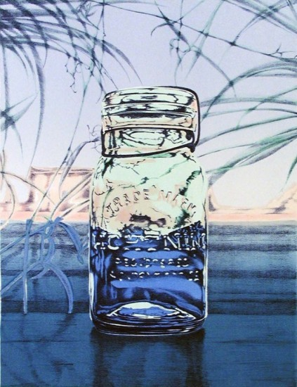 Rica Bando - Mason jar / Summer light