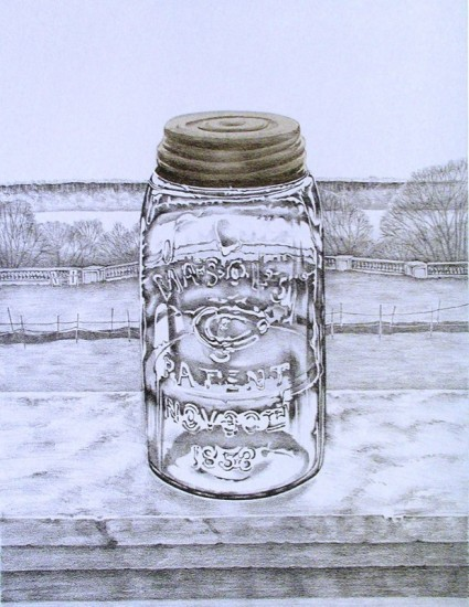 Rica Bando - Mason jar / Wave Hill
