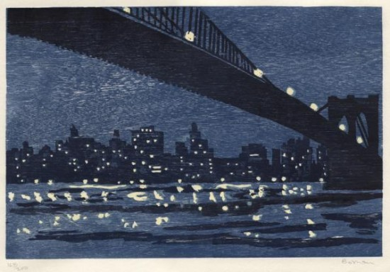 Richard Bosman - Brooklyn Bridge