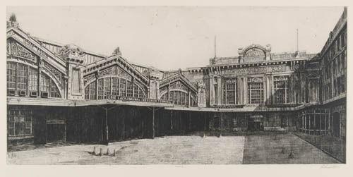 Richard Haas - Erie-Lackawanna Hoboken Terminal