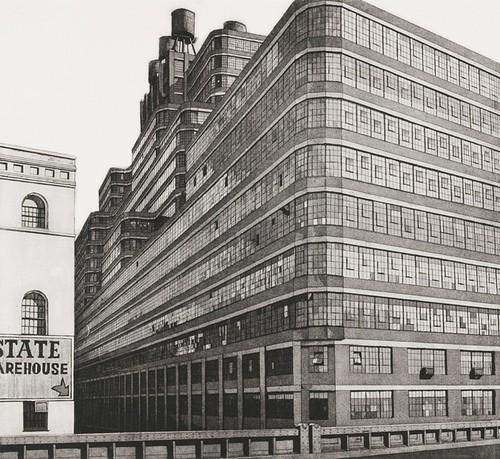 Richard Haas - Starrett Lehigh Building