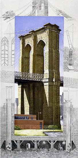 Richard Haas - Brooklyn Bridge