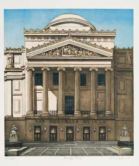 Richard Haas - Brooklyn Museum