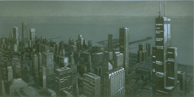 Richard Haas - Chicago View: Day