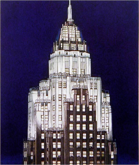 Richard Haas - Cities Service Building