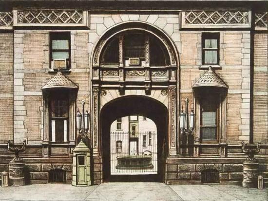 Richard Haas - The Dakota Entrance
