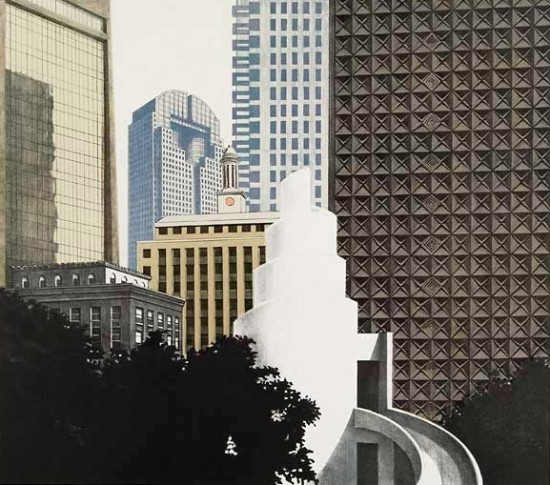 Richard Haas - Dallas Skyline