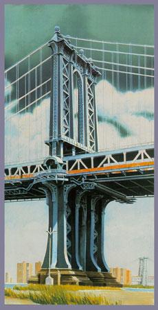 Richard Haas - Manhattan Bridge
