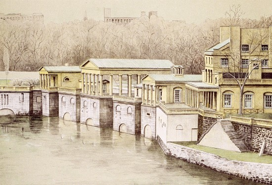 Richard Haas - Old Waterworks, Philadelphia