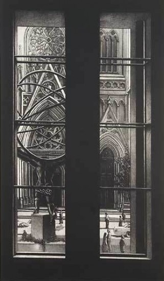 Richard Haas - View of Saint Patrick's