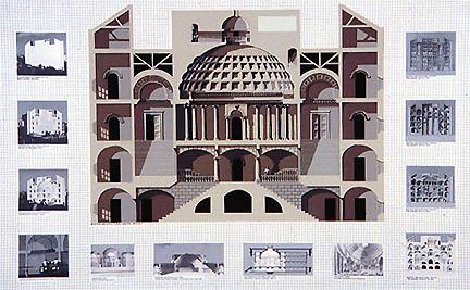 Richard Haas - West Facade, Boston Architectural Center, Boston, MA