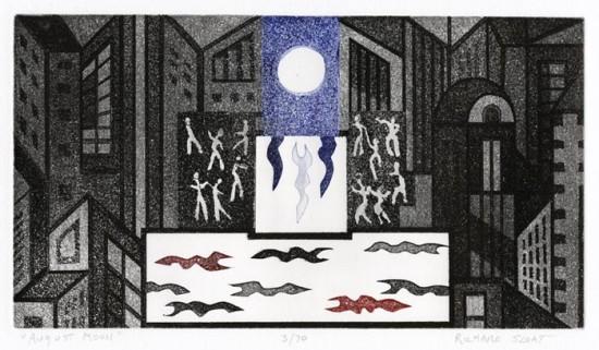 Richard Sloat - Prints - August Moon