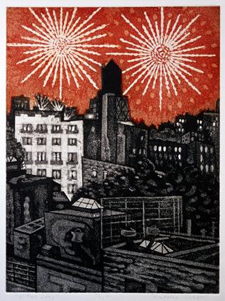 Richard Sloat - Prints - 4th of July