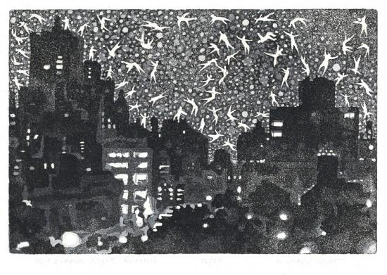 Richard Sloat - Prints - Midsummer Night Reverie