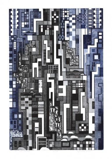 Richard Sloat - Prints - On the Square