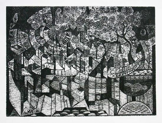 Richard Sloat - Prints - Silent City Celebration