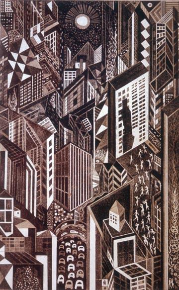 Richard Sloat - Prints - Vertical Myth