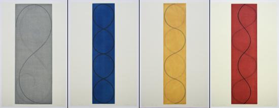 Robert Mangold - Four Columns I, II, III, IV