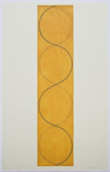 Robert Mangold - Four Columns III