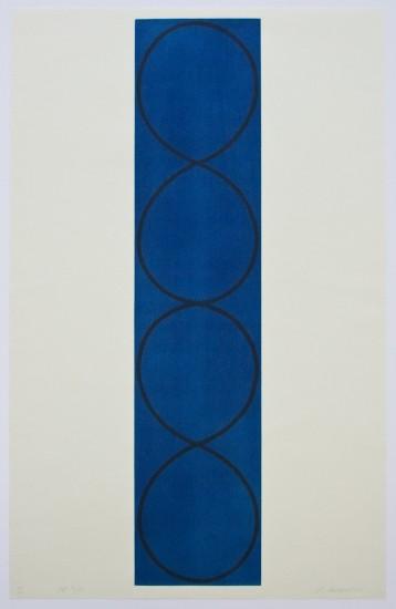 Robert Mangold - Four Columns II