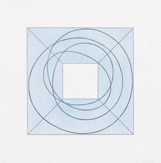 Robert Mangold - Framed Square with Open Center B