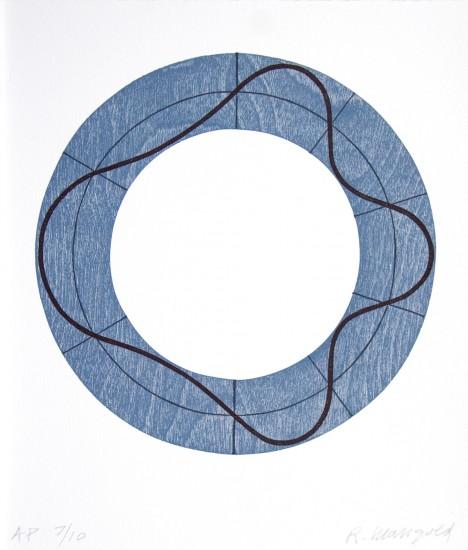 Robert Mangold - Ring Image AK, 2009