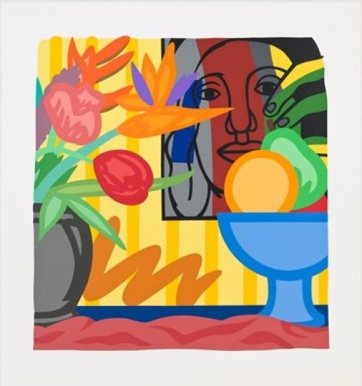 Tom Wesselmann - Mixed Bouquet with Leger, 1993