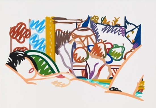 Tom Wesselmann - Monica Nude with Cezanne, 1994