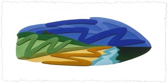 Tom Wesselmann - Seascape, 1998