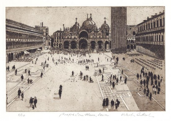 Walter Buttrick - Piazza San Marco, Venice