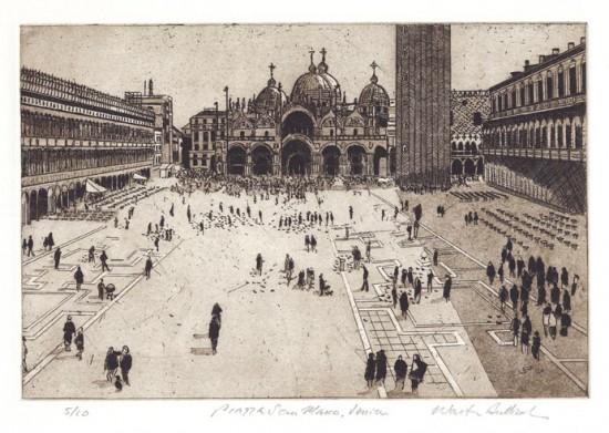 Walter Buttrick - Piazza San Marco, Venice