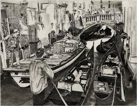 Walter Buttrick - Venice Traffic