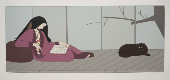 Will Barnet - Prints - Aurora (Purple)