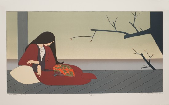 Will Barnet - Prints - Madame Butterfly