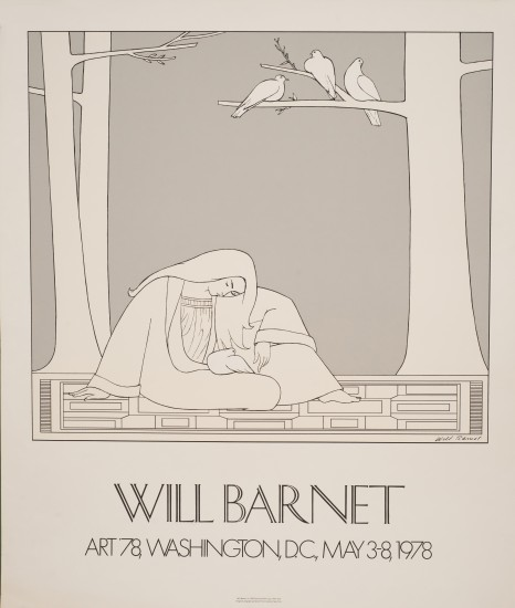 Will Barnet - Prints - Paean Poster