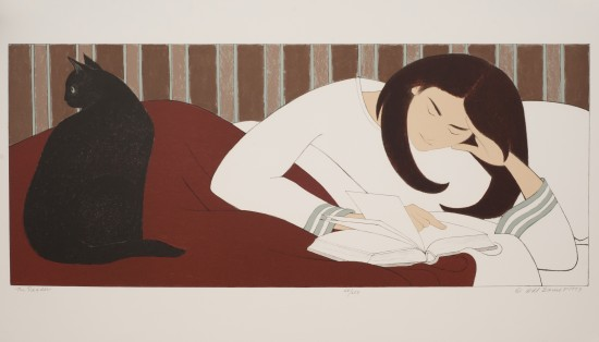 Will Barnet - Prints - Reader, The