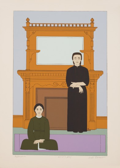 Will Barnet - Prints - Reflection