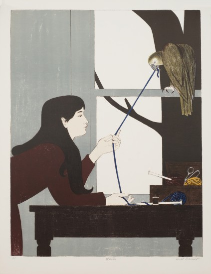 Will Barnet - Prints - Silent Seasons: Winter