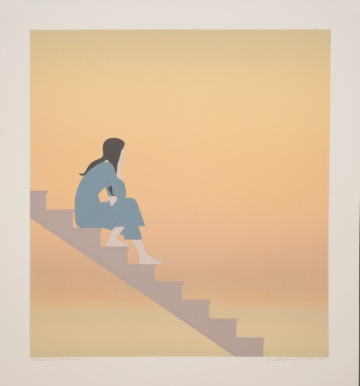 Will Barnet - Prints - Stairway to the Sea