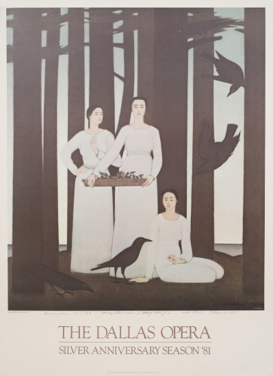 Will Barnet - Prints - Three Muses Poster